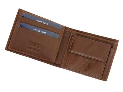 Gai Mattiolo Man Leather Wallet Small size Green-6287