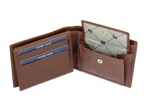Gai Mattiolo Man Leather Wallet Small size Green-6291