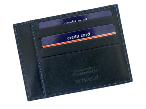 Gai Mattiolo Credit Card Holder Black-4273