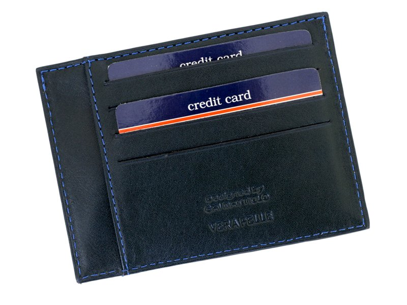 Gai Mattiolo Credit Card Holder Black-4273