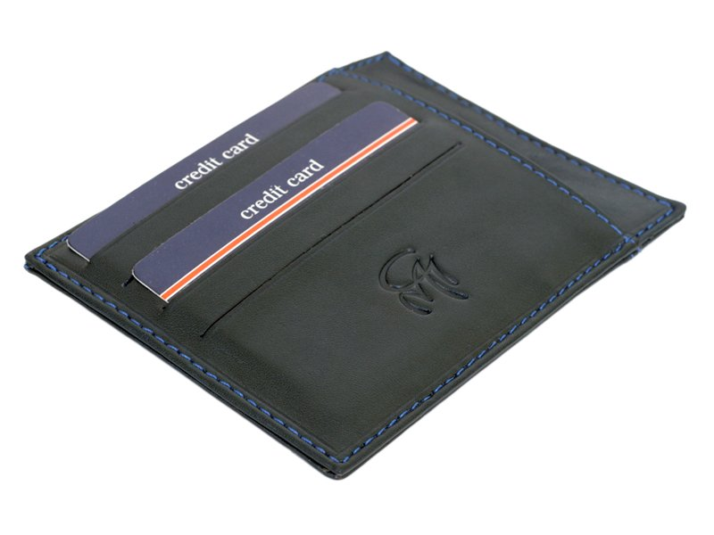 Gai Mattiolo Credit Card Holder Brown-4282