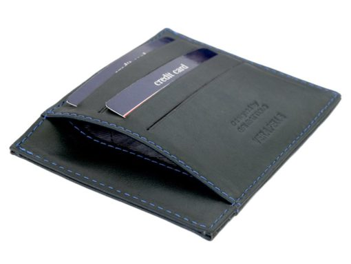 Gai Mattiolo Credit Card Holder Black-4275