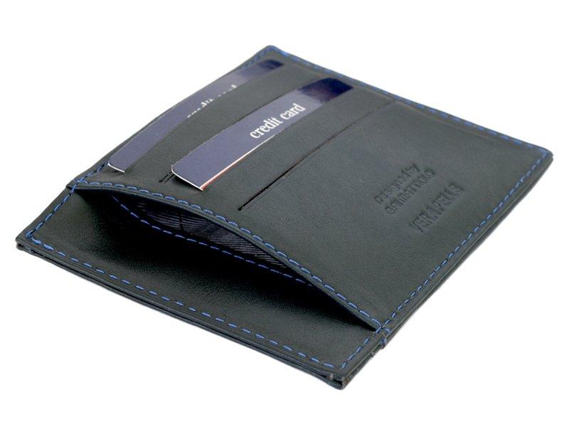 Gai Mattiolo Credit Card Holder Black-4275