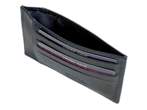 Gai Mattiolo Credit Card Holder Black-4272