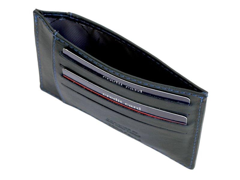 Gai Mattiolo Credit Card Holder Black-4272