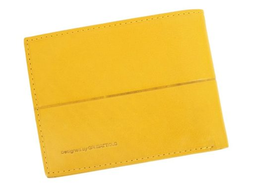 Gai Mattiolo Man Leather Wallet Green-6329