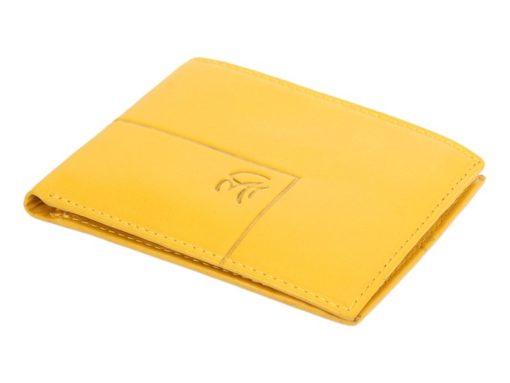 Gai Mattiolo Man Leather Wallet Yellow-6310