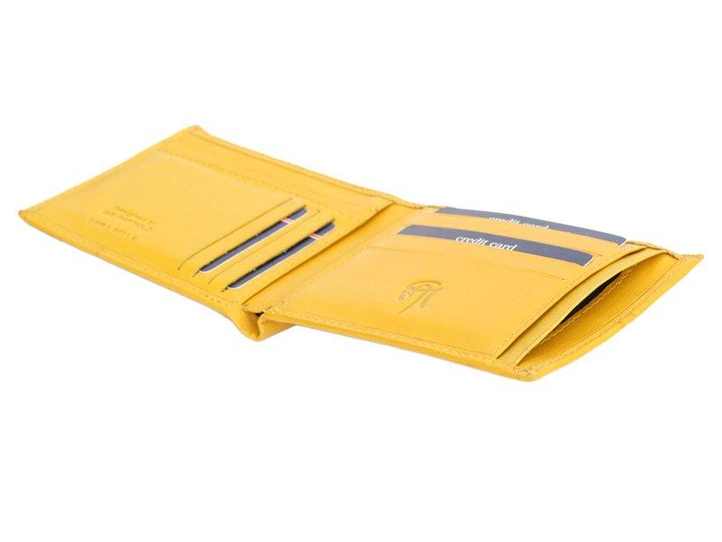 Gai Mattiolo Man Leather Wallet Blue-6314