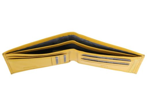Gai Mattiolo Man Leather Wallet Green-6328