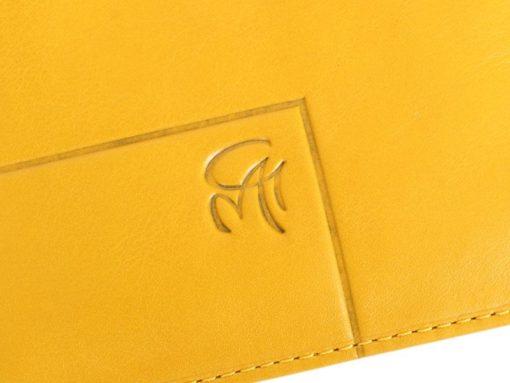 Gai Mattiolo Man Leather Wallet Yellow-6309