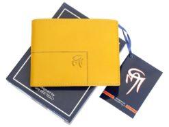 Gai Mattiolo Man Leather Wallet Yellow-6304
