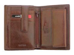 Pierre Cardin Man Leather Wallet Cognac-5001