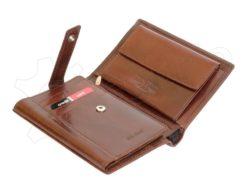 Pierre Cardin Man Leather Wallet Cognac-5003