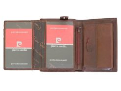 Pierre Cardin Man Leather Wallet Cognac-4993