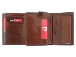 Pierre Cardin Man Leather Wallet Cognac-4996