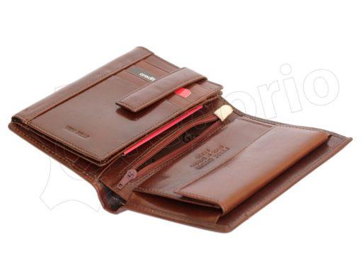 Pierre Cardin Man Leather Wallet Cognac-4997
