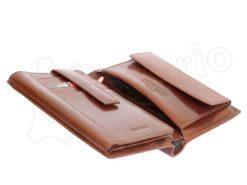 Pierre Cardin Man Leather Wallet Cognac-4998