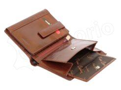 Pierre Cardin Man Leather Wallet Cognac-4989