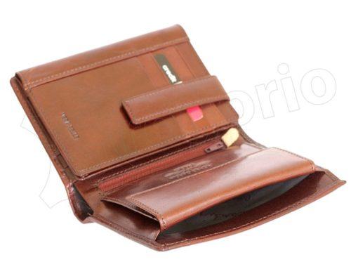 Pierre Cardin Man Leather Wallet Cognac-5000