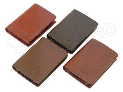 Pierre Cardin Man Leather Wallet Cognac-4994