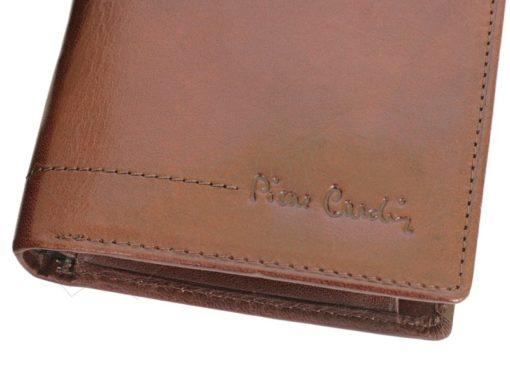Pierre Cardin Man Leather Wallet Cognac-4995