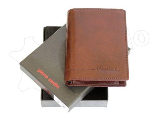 Pierre Cardin Man Leather Wallet Cognac-4992