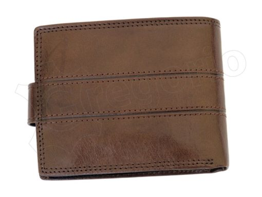 Pierre Cardin Man Leather Wallet Brown-6732