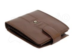Pierre Cardin Man Leather Wallet Brown-6736