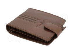 Pierre Cardin Man Leather Wallet Dark Brown-4808
