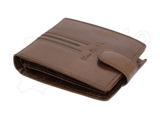 Pierre Cardin Man Leather Wallet Dark Black-4911