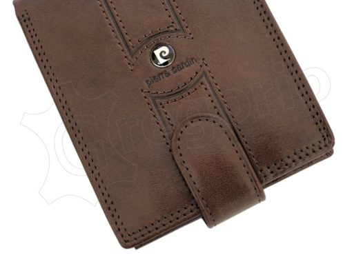 Pierre Cardin Man Leather Wallet Brown-6738