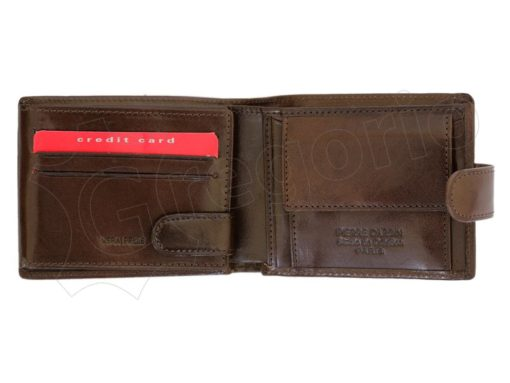 Pierre Cardin Man Leather Wallet Brown-6728
