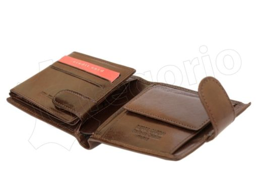 Pierre Cardin Man Leather Wallet Brown-6731