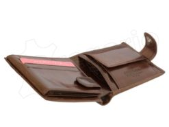 Pierre Cardin Man Leather Wallet Dark Black-4904