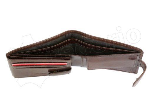 Pierre Cardin Man Leather Wallet Dark Black-4896