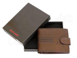 Pierre Cardin Man Leather Wallet Dark Black-4905