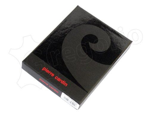 Pierre Cardin Man Leather Wallet Dark Black-4902