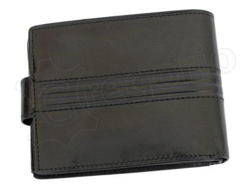 Pierre Cardin Man Leather Wallet Dark Brown-4887