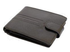 Pierre Cardin Man Leather Wallet Dark Brown-4881