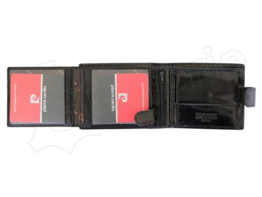 Pierre Cardin Man Leather Wallet Dark Brown-4886