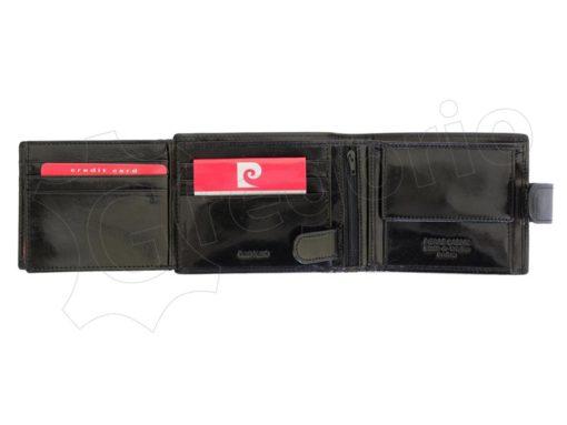 Pierre Cardin Man Leather Wallet Dark Brown-4880