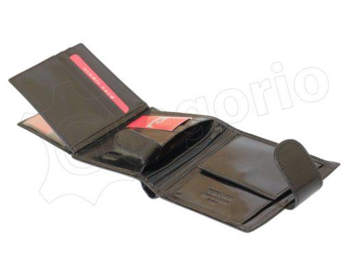Pierre Cardin Man Leather Wallet Dark Brown-4890