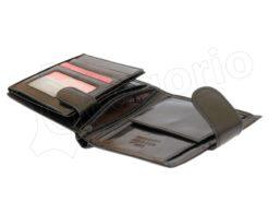 Pierre Cardin Man Leather Wallet Dark Brown-4882