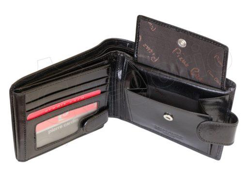 Pierre Cardin Man Leather Wallet Dark Brown-4888