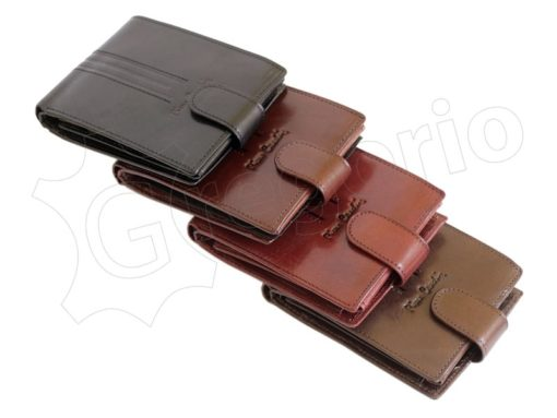 Pierre Cardin Man Leather Wallet Cognac-4878