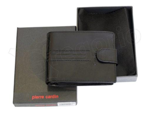 Pierre Cardin Man Leather Wallet Dark Brown-4893