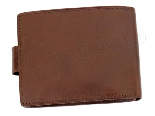 Pierre Cardin Man Leather Wallet with Horse Cognac-5029