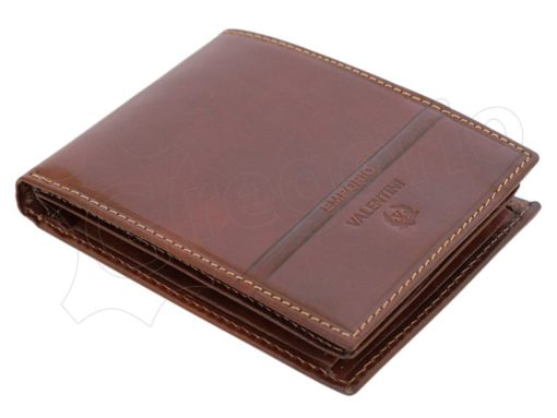 Emporio Valentini Man Leather Wallet Black-4722