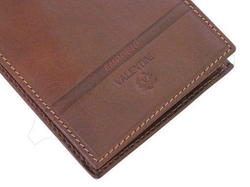 Emporio Valentini Man Leather Wallet Black-4720