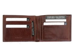Emporio Valentini Man Leather Wallet Brown-4715